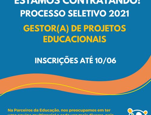 Vaga para Gestor(a) de Projetos Educacionais