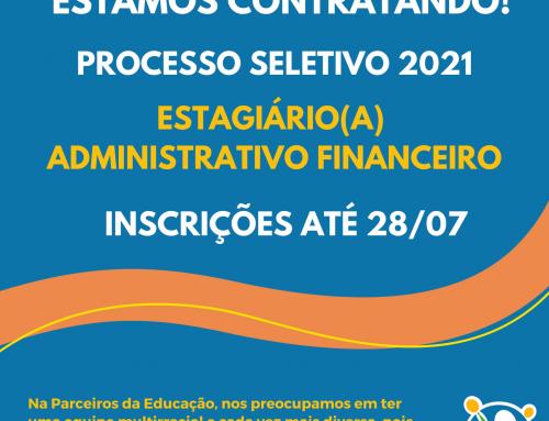 Estagiário(a) Administrativo Financeiro