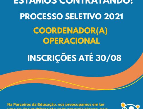 Vaga Coordenador(a) Operacional
